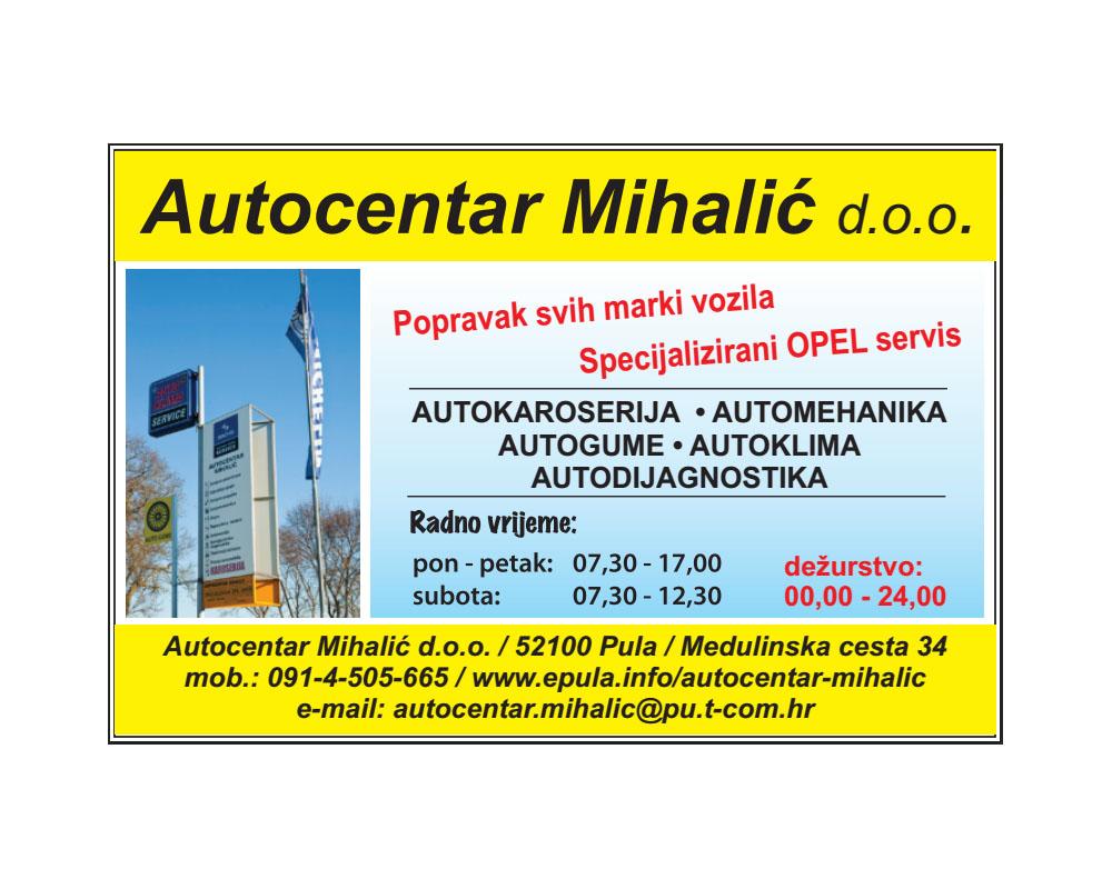 AUTOCENTAR MIHALIĆ PULA