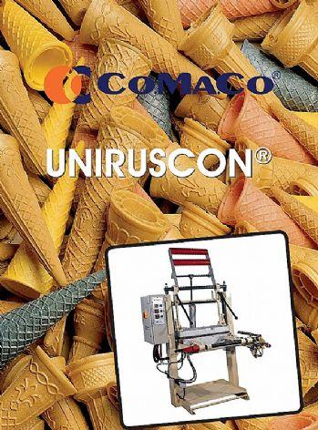 Mašina za izradu raznih korneta za sladoled UNIRUSCON