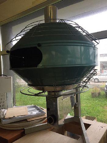 Plinska pećnica za bruschette