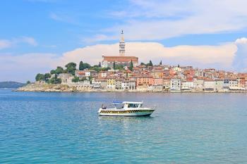 Taxi boat Rovinj: Privatna tura za razgled rovinjske panorame