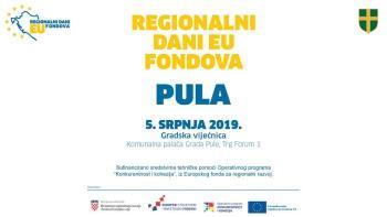 Regionalni dani EU fondova u Puli