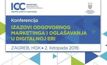 Konferencija Izazovi odgovornog marketinga i oglašavanja u digitalnoj eri
