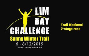 Lim Bay Challenge - Sunny winter trail