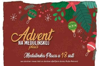 Ove subote bogat program Adventa na medulinskoj placi uz Night Express band!