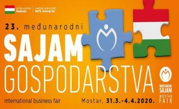 Obrtnici i poduzetnici, iskoristite prigodu i prezentirajte proizvode i usluge na 23. Međunarodnom sajmu gospodarstva u Mostaru 2020.