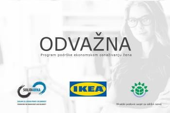 IKEA-in natječaj za potporu ženama u poduzetništvu: ODVAŽNA