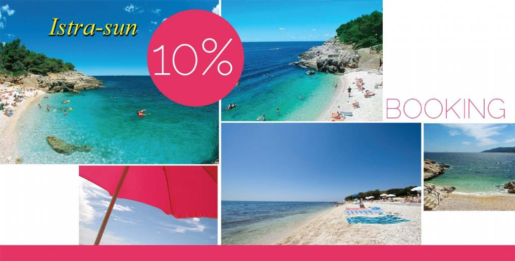 ISTRA - SUN: Akcija 10% na booking