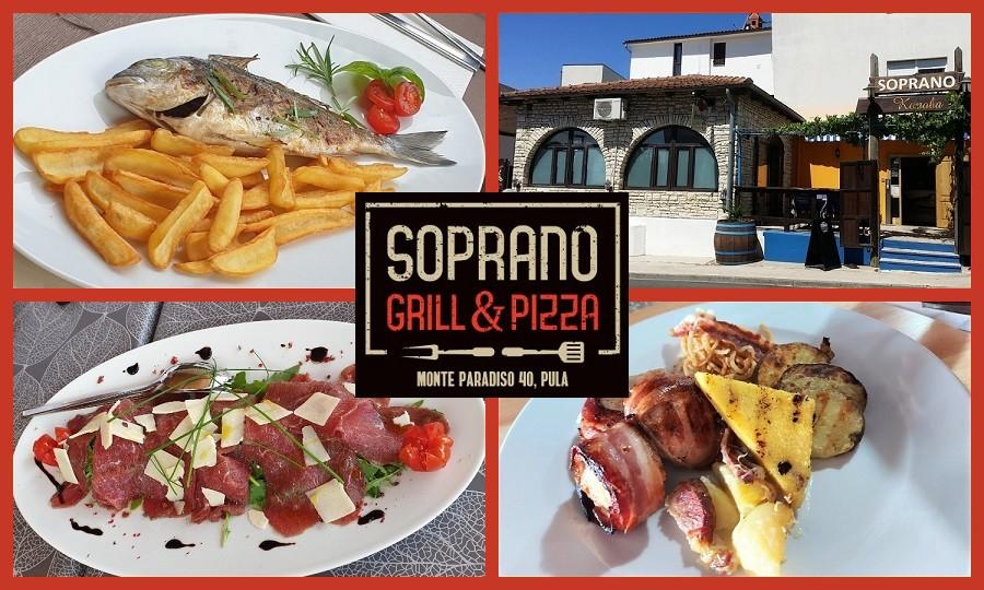 SOPRANO GRILL & PIZZA