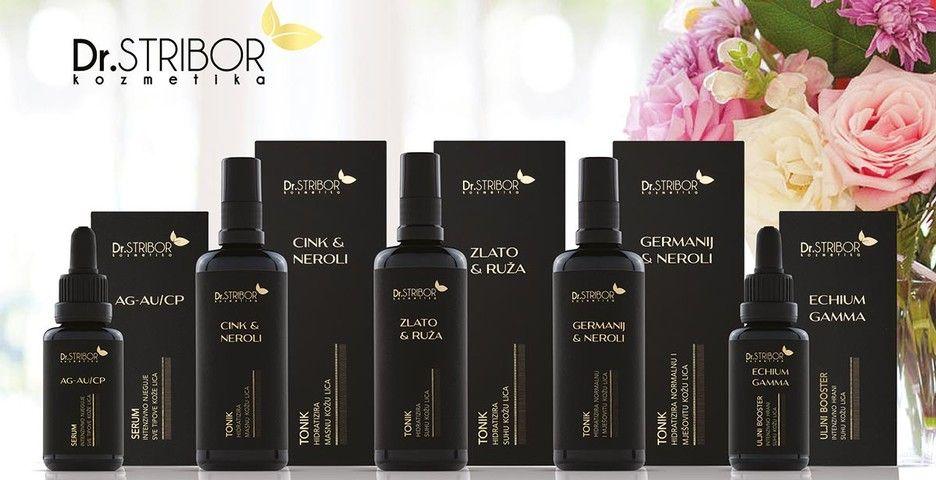 NOVO U LJEKARNI SV. VID!!<br>Dr. STRIBOR kozmetika, linija prirodnih proizvoda bez parabena koji njeguju i najzahtjevniju kožu