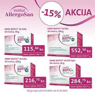 ALERGOSAN - Za zdravija crijeva