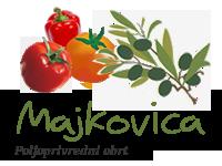 pomidor, rajčica za šalšu, za preradu, masline, maslinovo ulje, ječam, pšenica, kukuruz za stoku