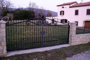 Izrada kovanih ograda Istra