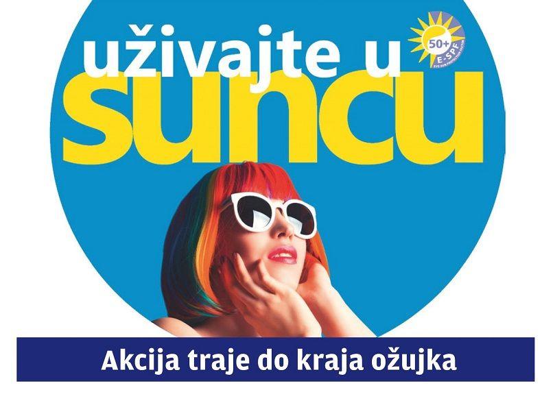 Uz kupnju sunčanih naočala dobivate popust od 50% na dioptrijska stakla