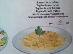 Rezanci sa tartufima