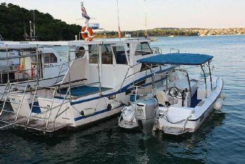 Najam plovila - Boat rental