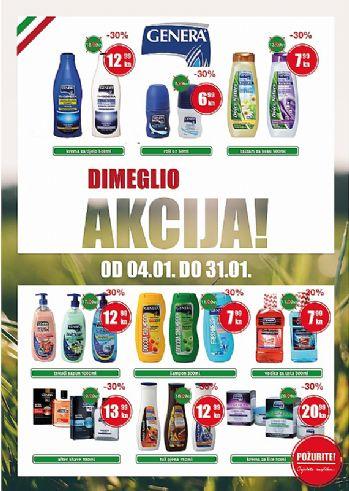 Dimeglio - Popusti na Genera kozmetički asortiman