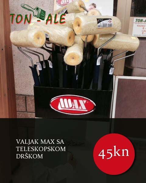 Valjak MAX sa teleskopskom drškom!!!