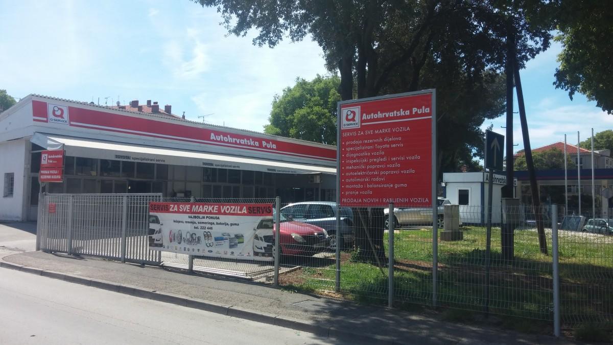 AUTOHRVATSKA PULA - SERVIS ZA SVE MARKE VOZILA