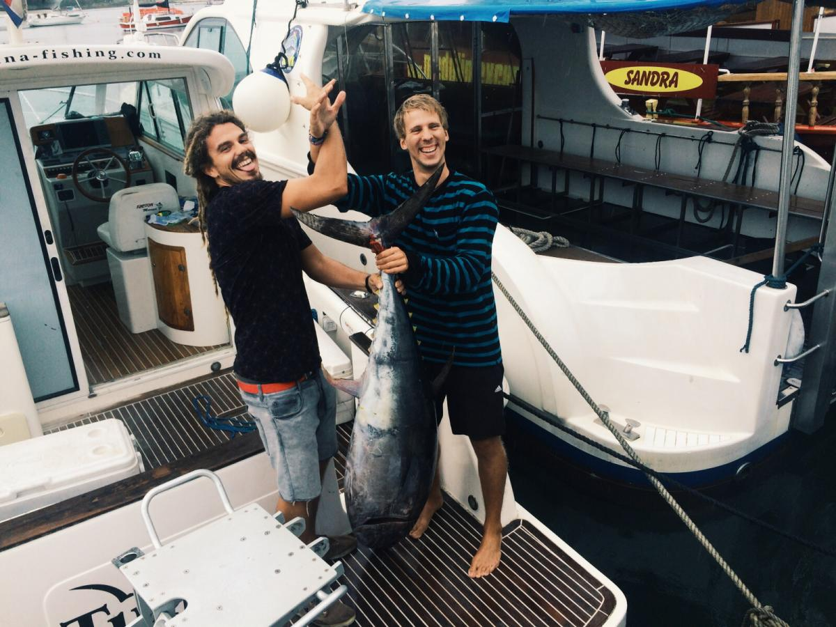 BIG GAME FISHING - TUNANA