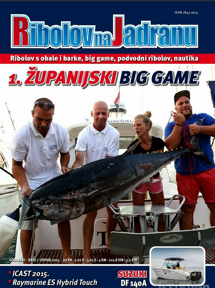 BIG GAME FISHING - TUNANA