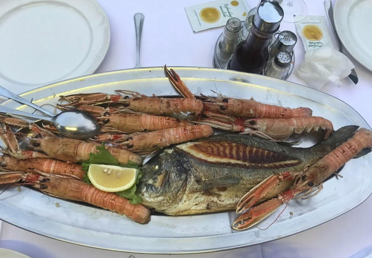 Ristorante pesce Istria Konoba Šantić