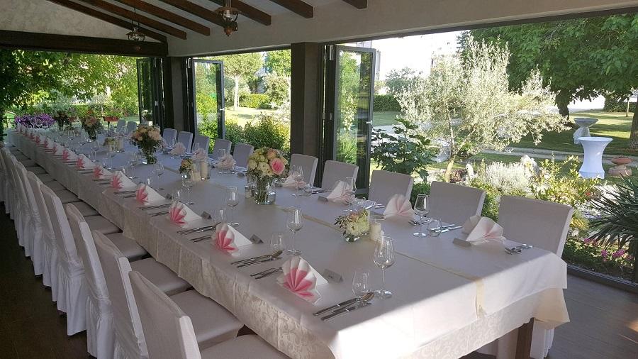 Sala za vjenčanja Poreč, restoran Histria