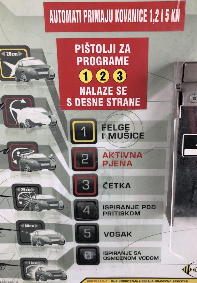 Car wash, Autopraonica plus, Pula