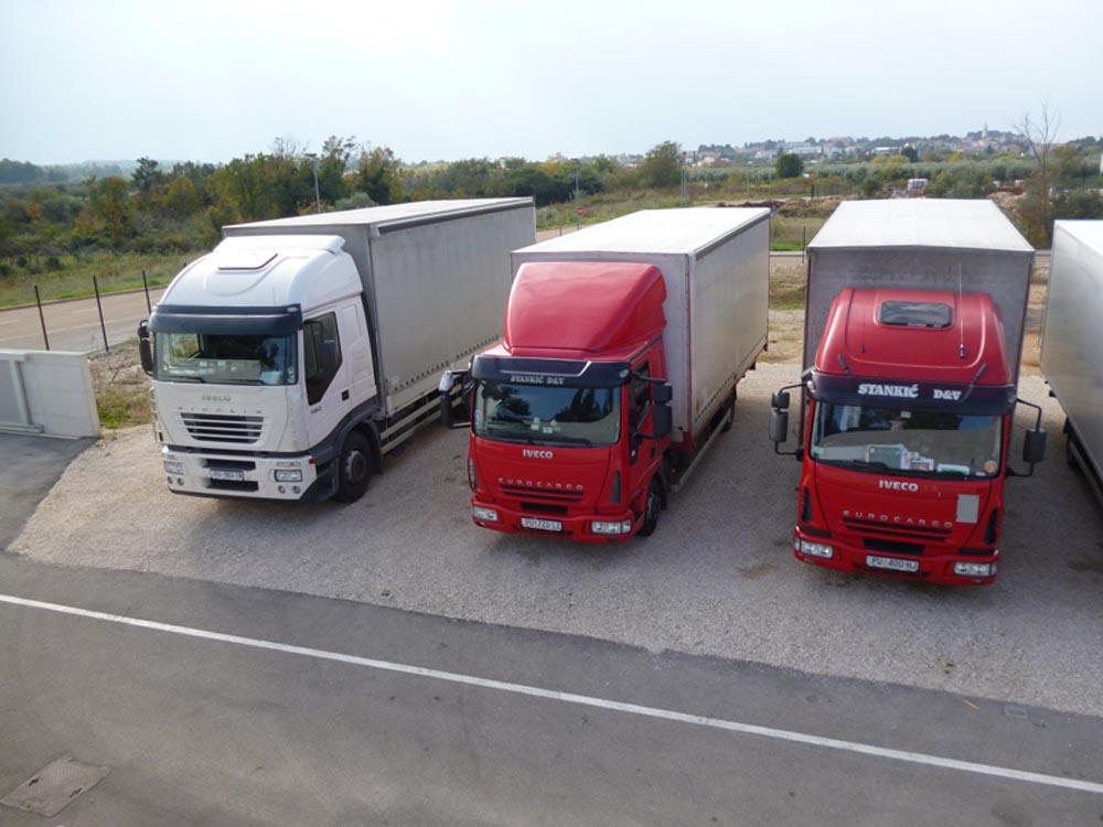 Prijevoz robe Novigrad Transporti Stankić