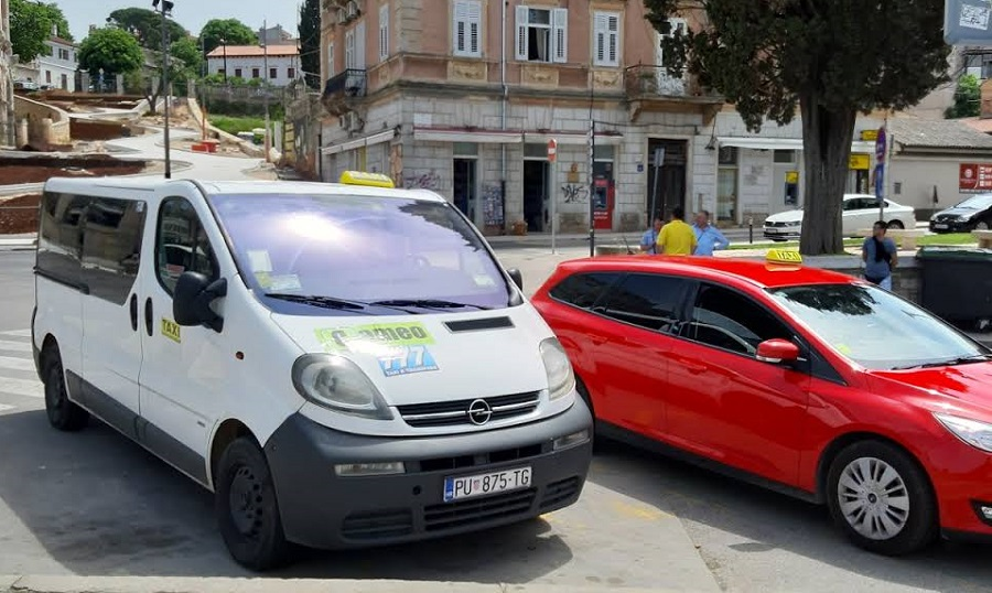 Taxi Pula, airport transfers