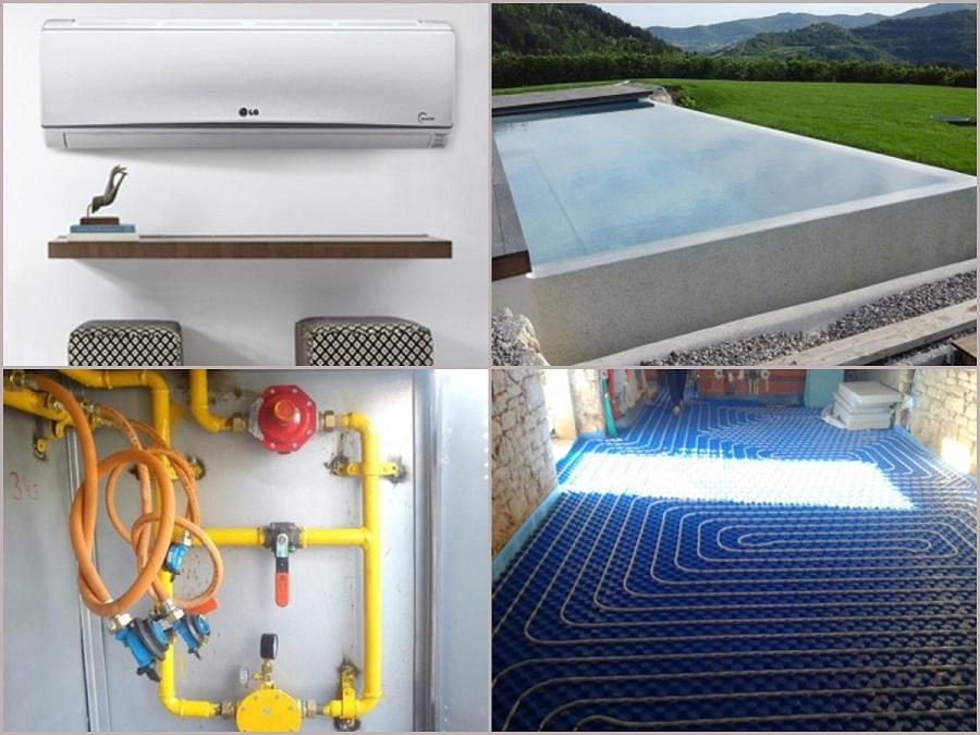 održavanje bazena, klime, plinske instalacije, podno grijanje Istra, Mafro