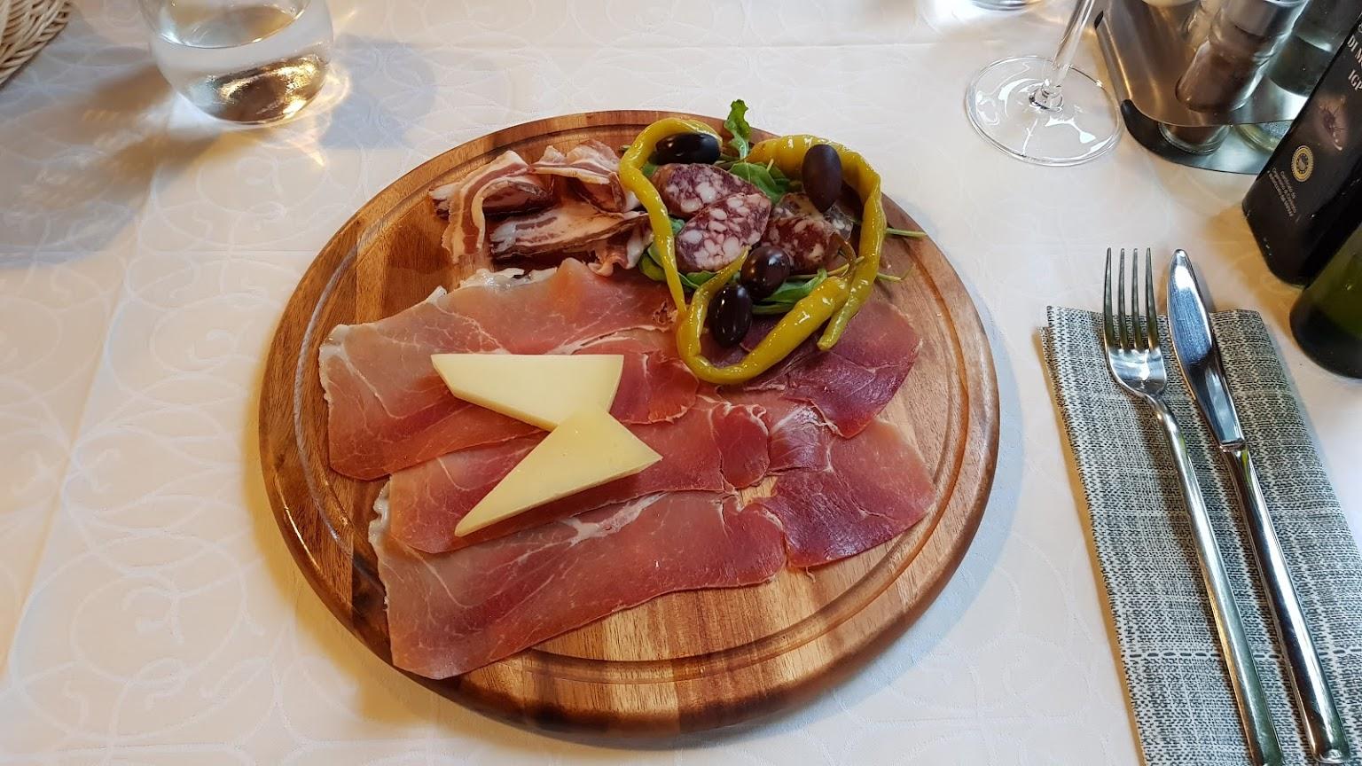 Istrian food, Funtana, Porec, restaurant Zeleni Park