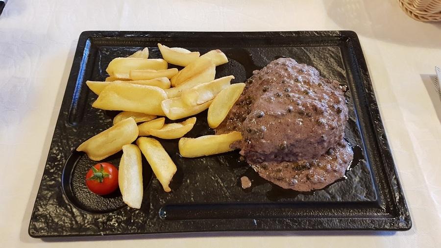 Steak, Funtana, Porec, restaurant Zeleni Park