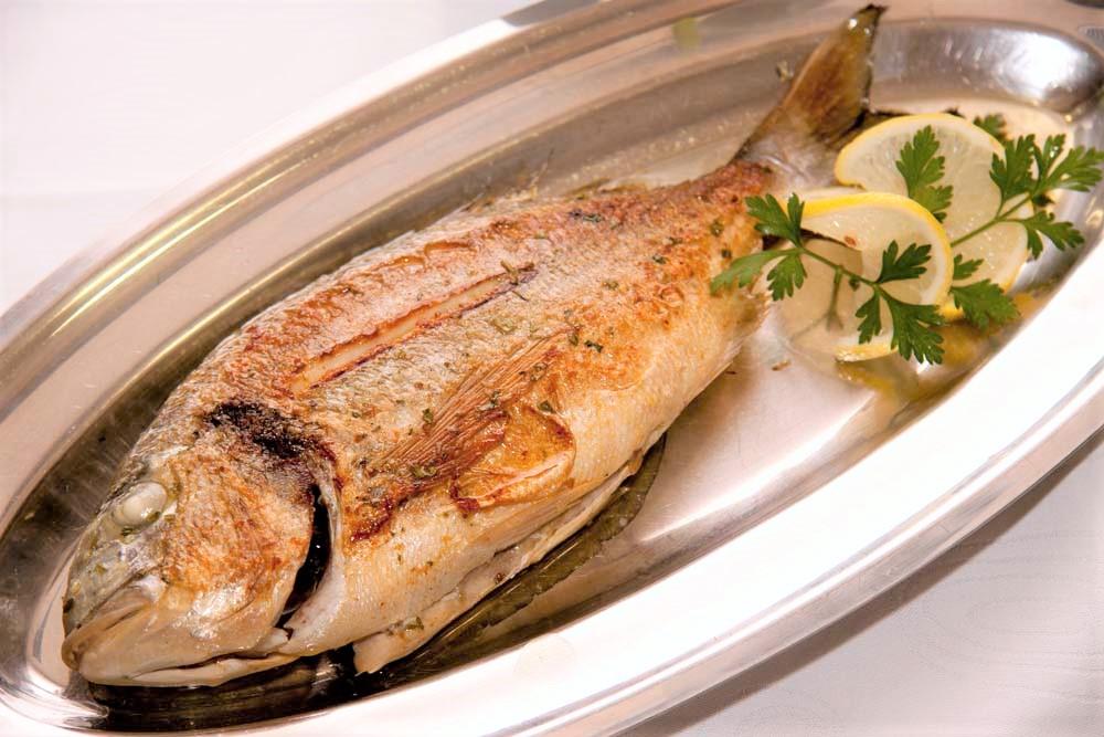 Fisch restaurant Umag