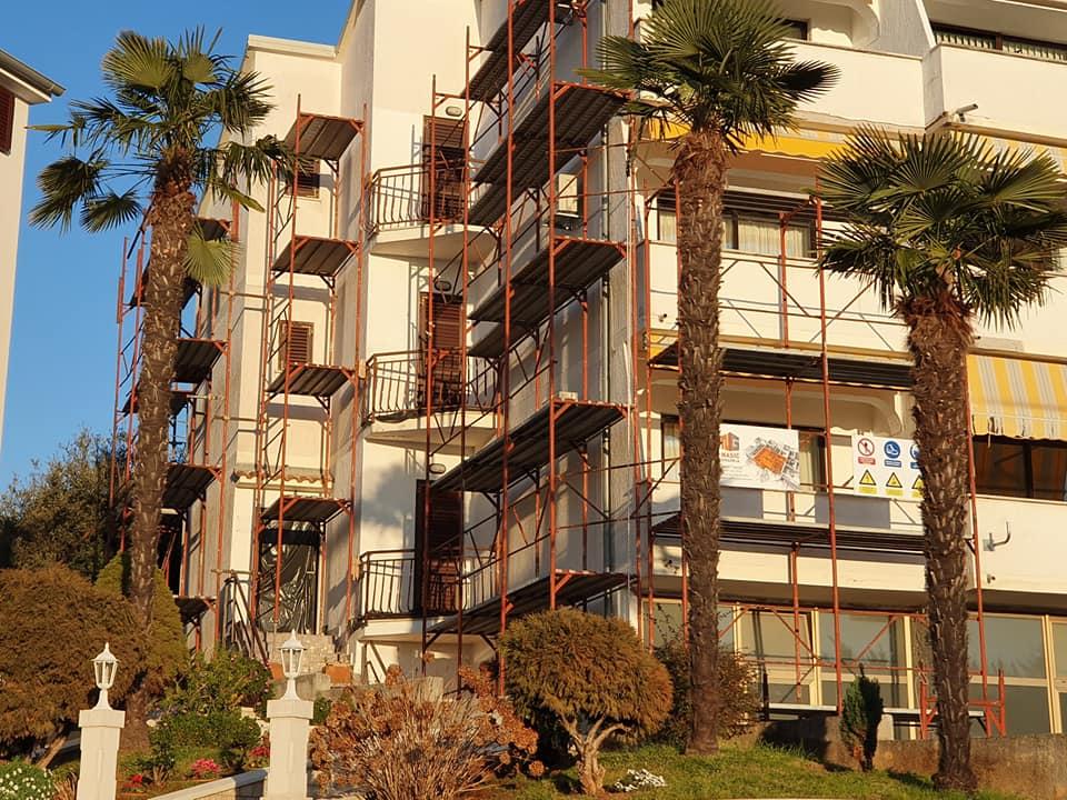 Obnova i popravak fasada na zgradama