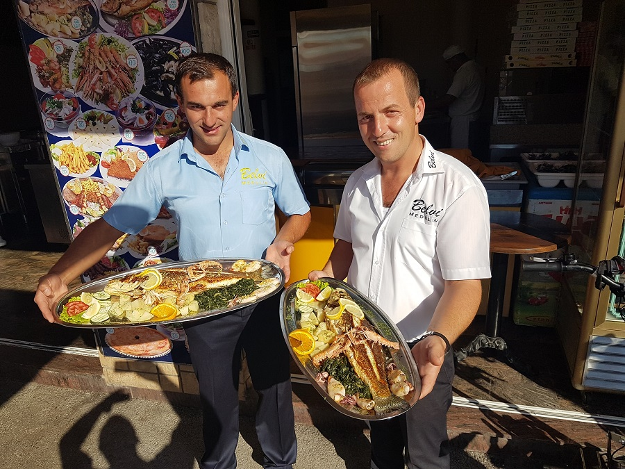 Pesce, Medulin, ristorante Belvi