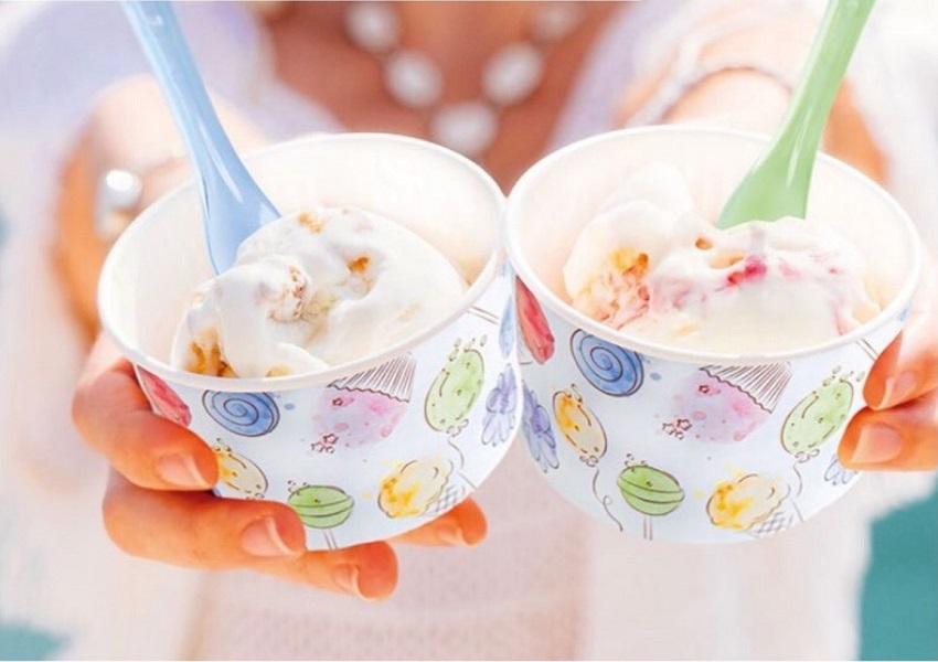 Plastične čaše za sladoled