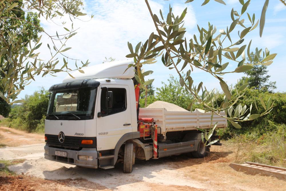 Prijevoz tereta kamionom, Poreč
