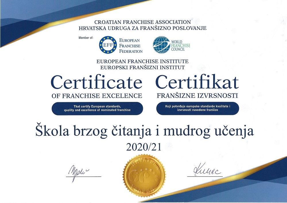 EU certifikat
