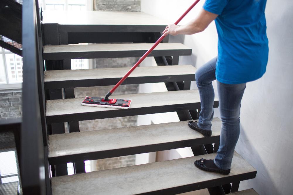 Čišćenje stubišta, Rovinj