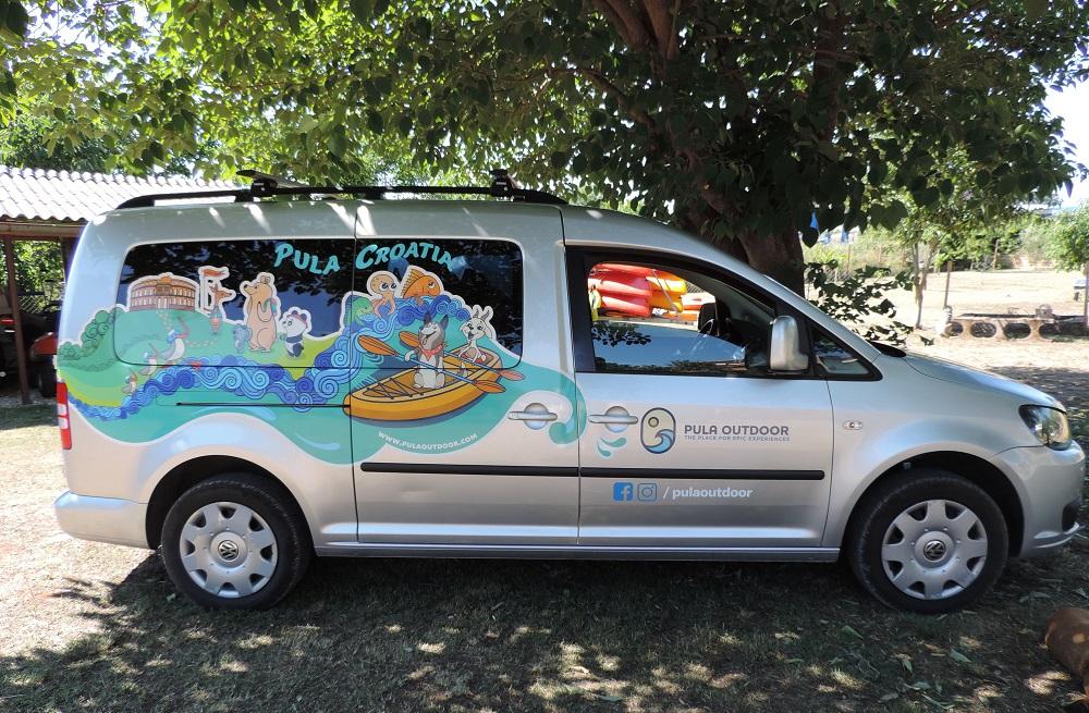Oslikavanje vozila, Pula