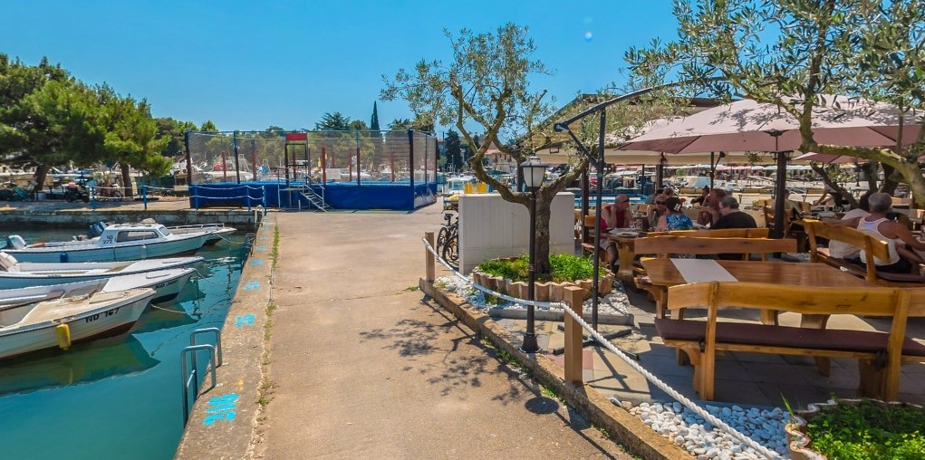Top restaurant in Novigrad