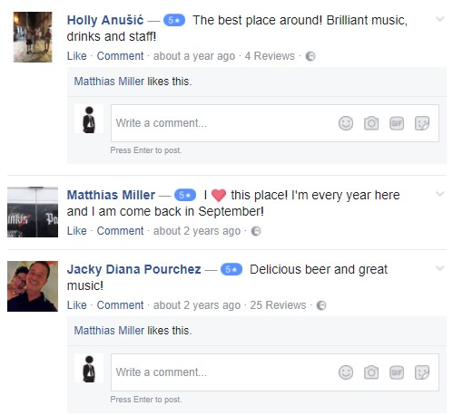 English Pub recenzije