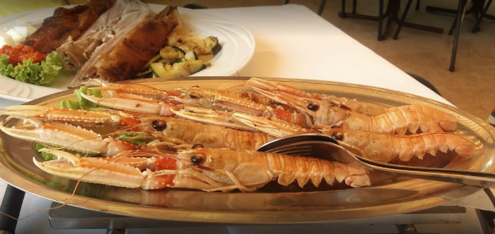Fish plate Vrsar