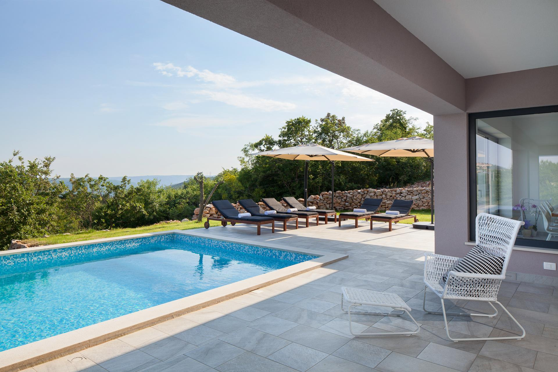 Gradnja bazena Labin, Istra