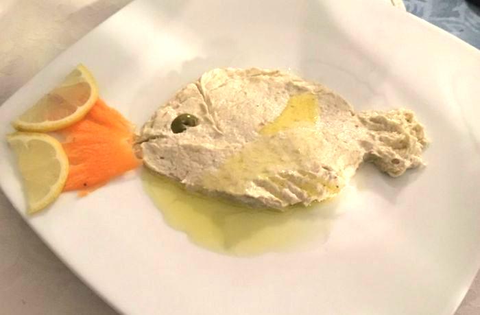 Riblja jela Tomato Novigrad