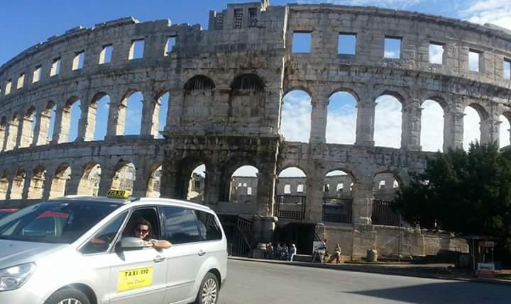 Taxi Ivona Rovinj, Pula, Istra