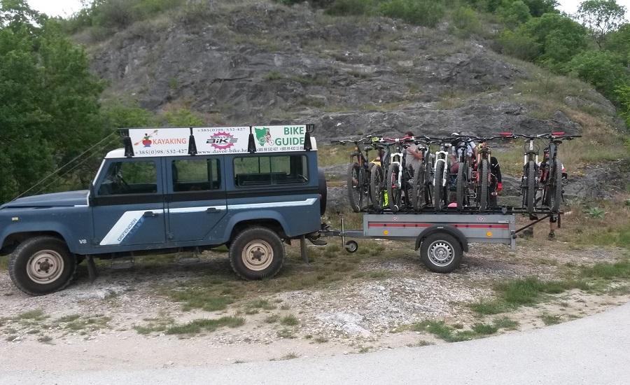 Davor Bike, bike shuttle