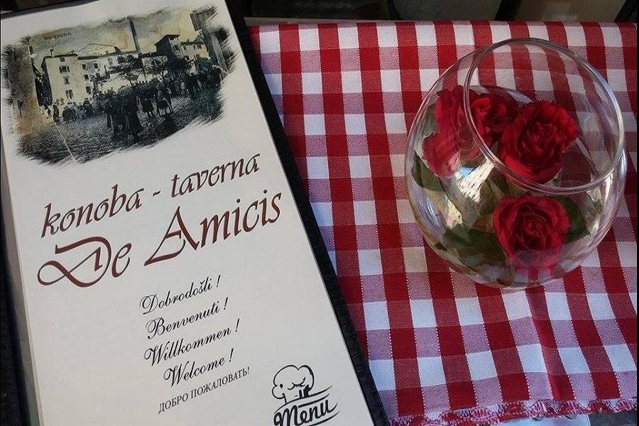 Konoba De Amicis, Rovinj, riblji specijaliteti