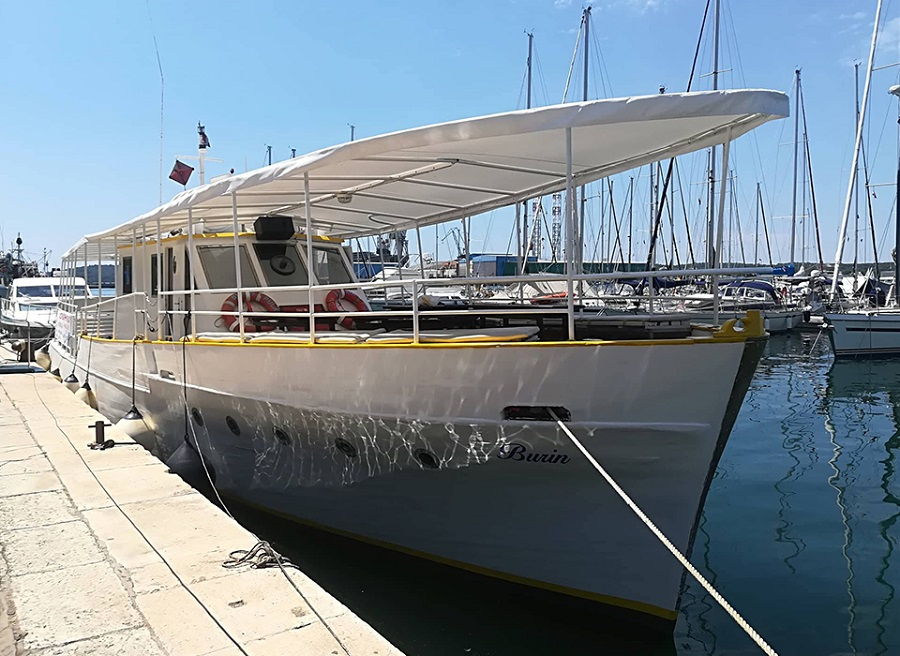 Excursions Antonio, Pula, najam broda, organizirani izleti