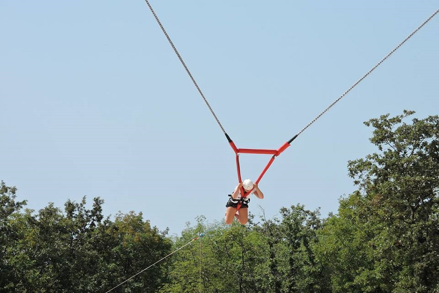 Glavani park, Barban, ljudski katapult